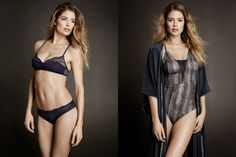 Doutzen Kroes Stars in Hot H&M Lingerie Shoot