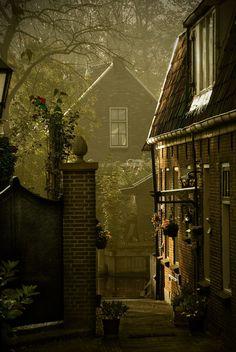 Dusk, Loenen, The Netherlands photo via mary