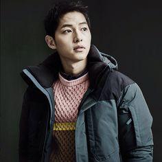 Song Joong Ki 송중기 for Kolon Sport's October promo.