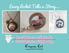 tell your story. order at www.laurie.origamiowl.com