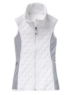 Upside Vest - Our new Stretch Insul8 for supreme quilted warmth with stretchy Pilayo® panels gives you freedom to move in this trail-ready core warmer.