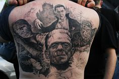 universal monsters tattoo | Flickr - Photo Sharing!