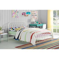 Colorful Metal Bed Frames