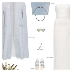"""""""Untitled #3141"""" by amberelb ❤ liked on Polyvore featuring Sally Lapointe, Valextra, Christian Dior, Harry Winston and Abigail Ahern"""
