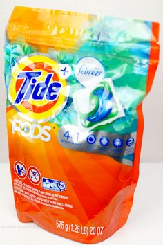 Laundry Made Easier with Tide Pods plus Febreze at Walmart