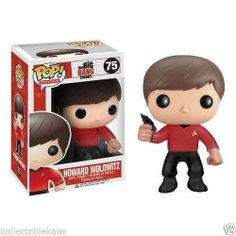 """FUNKO POP TV, """"BIG BANG THEORY"""" HOWARD WOLOWITZ#75 IN HIS STAR TREK COSTUME, $11.30 (http://www.gamerzoutlet.com/funko-pop-tv-big-bang-theory-howard-wolowitz-75-in-his-star-trek-costume/)"""