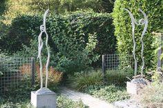 Aluminium sculptures by Corbani - private collection, Zeeland