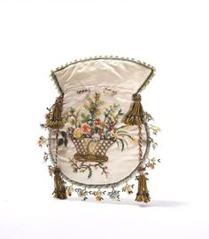 Reticule early 19th century, Modemuze, Netherlands