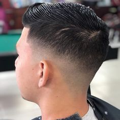 18 Best Low Fade Comb Over Haircuts in 2020 Thick Curly Hair, Curly Hair Men, Curly Hair Styles, Natural Hair Styles, Classic Hairstyles, Funky Hairstyles, Formal Hairstyles, Wedding Hairstyles, Low Fade Comb Over
