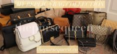 RECOMMENDED REPLICA BAGS SELLERS LIST - Authentic & Replica Bags/Handbags Reviews by thepursequeen #replicabag #replicabags Stylish Handbags, Luxury Handbags, Fashion Handbags, Cheap Purses, Cute Purses, Cool Street Fashion, Look Fashion, Fashion Tips, Fashion Bloggers