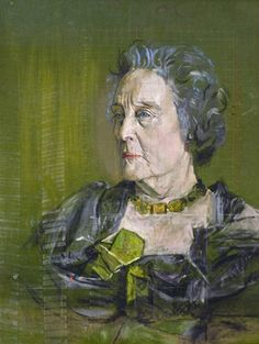 Mrs Ramsey Hunt, by Graham Sutherland. Examples Of Modern Art, Modern Artists, Contemporary Artists, English Artists, Best Portraits, Art Database, Easy Paintings, National Museum, Portrait Art