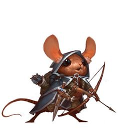 """Winners of the """"Mouse Warrior"""" Challenge Fantasy Character Design, Character Design Inspiration, Character Concept, Character Art, Anime Art Fantasy, Fantasy Kunst, Dungeons And Dragons Characters, Dnd Characters, Fantasy Characters"""