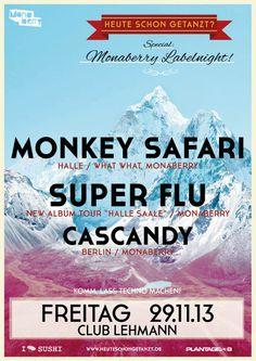MONKEY SAFARI SUPER FLU CASCANDY