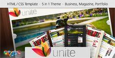 Unite - HTML Business, Magazine, Community Site - Creative Site Templates