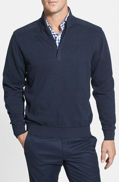 Cutter+&+Buck+'Broadview'+Half+Zip+Sweater+available+at+#Nordstrom