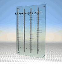 "AP-9-14 Acrylic Optical Display Panel - 35.45"" x 55"""