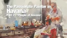 Alvaro Castagnet's new Havana DVD is due for release on 10th September. Share the experience as Alvaro paints in this fascinating and exciting city. Enjoy ex...