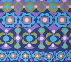 Vintage Fabric Remnant - 1960s Francis Price