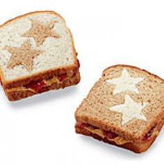 Peanut Butter and Jelly Stars - These little sandwiches make the perfect finger foods for picky eaters.