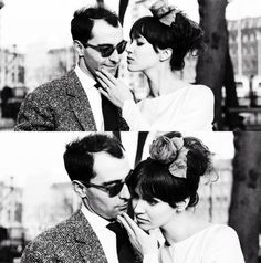 anna and jean luc-godard