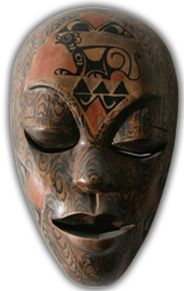Types of African tribal masks There are many types of African tribal masks and these masks are sold out in separate mofels for the males and the females. Some types of African masks are Chokme masks, tika mask, elephant masks, Punu tika masks, The knig of Uruba, Royal fang mask and many more.