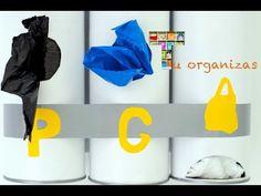 Organizador de sacos de lixo - YouTube