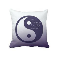 Yin Yang Throw Pillows