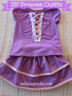 : DIY Princess Outfits for Disney World: When you need a comfy alternative to itchy polyester
