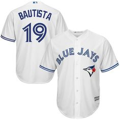 spot jose bautista jersey free shipping with stithced on letters and number with only cost 84.99 sel