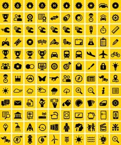 Eco Marathon Icons : loft27design — Designspiration