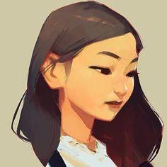 Female character portrait drawing by Samuel Youn Fantasy Character, Female Character Design, Character Design References, Character Drawing, Character Design Inspiration, Character Concept, Concept Art, Girl Inspiration, Comics Illustration