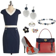 """""""A Little Patriotic"""" by bethherrmann on Polyvore"""