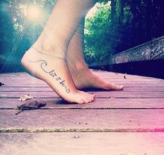 TribeTats 'Wild Child Sayings' Metallic Temporary Tattoo Designs