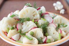 Bloemkoolsalade met de Franse slag #recept