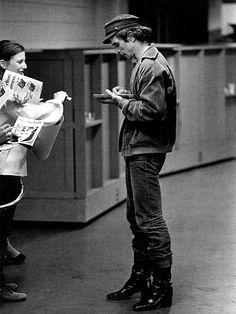 Nureyev Signing Autographs | by Nureyev Legacy Project
