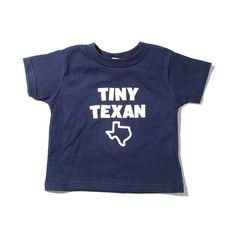 Navy Tiny Texan Toddler Shirt