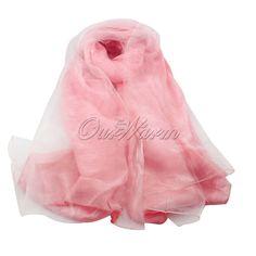 Another pink pashmina as a wedding favour