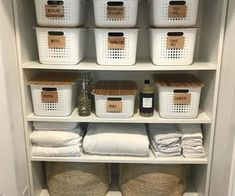 See more ideas about airing cupboard organisation linen closet shelving and bathroom closet organization. Funnily enough one of the places Bathroom Closet Organization, Bathroom Organisation, Medicine Cabinet Organization, Medicine Storage, Dollar Store Organization, Closet Storage Bins, Bathroom Linen Closet, Bathroom Drawer Organization, Closet Shelving