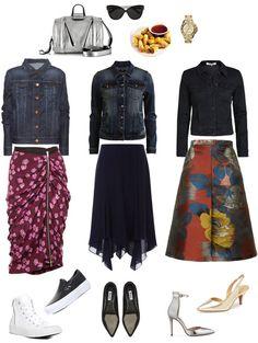Ensemble: Denim Jacket Burberry Style - YLF