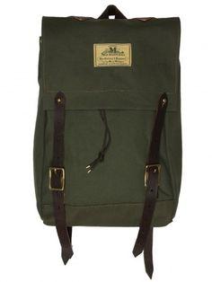 Seil Marschall Canvas Olive Mini Canoe Rucksack | Bags & Wallets - Other Brands - Seil Marschall Bags