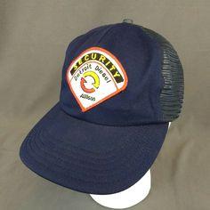 bfbdaa73c2b VTG Detroit Diesel Allison Security Snapback Hat Patch Mesh Trucker Cap  Blue USA  Unkown  TruckerHat