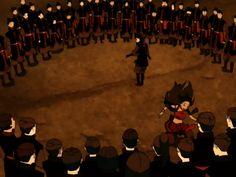 Beautiful dance by Aang and Katara