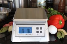 The Alimento scale is perfect for kitchen, office and laboratory use. It's user-friendly, sleek design makes it a great additive to any work space.