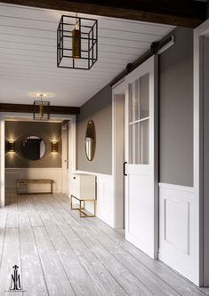 Barn door rendering
