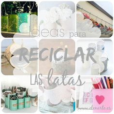 Ideas para reciclar latas de conserva: ¡Geniales!