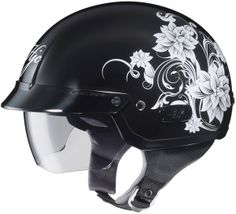 HJC IS-2 Helmet - Blossom MC-5 ~~ thinking about it getting it.... but so girly....although yay its not pink nor purple like everything else labeled 'womens'