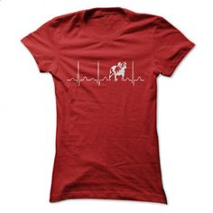 BULLDOG HEARTBEAT - #monogrammed sweatshirt #sweater design. ORDER NOW => https://www.sunfrog.com/Pets/BULLDOG-HEARTBEAT-Ladies.html?68278