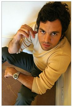Mark Ruffalo... Josh's twin. At least I know what he is going to look like when he grows up. Haha