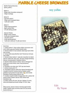Layer Cake Recipes, Easy Cake Recipes, My Recipes, Cookie Recipes, Resepi Cookies, Cheese Brownies, Resep Cake, Vanilla Sponge Cake, Cream Cake