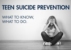 Suicide is the third leading cause of death of people ages 10 to 24 years old. While girls are more likely to attempt suicide, boys are more likely to die from suicide. We all can help prevent teen suicide by being familiar with the risk factors, knowing how to respond and removing the stigma from m